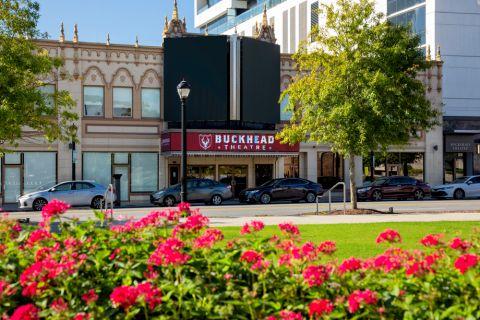 Buckhead Theater near Camden Paces Apartments in Atlanta, GA