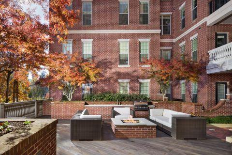 Grill Deck at Camden Paces Apartments in Atlanta, GA