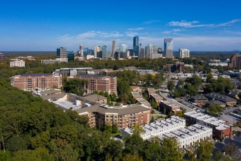 Skyline Views at Camden Paces Apartments in Atlanta, GA