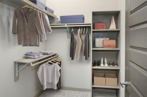 Walk-In Closet at Camden Paces Apartments in Atlanta, GA