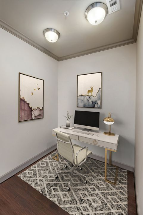 Flexible Work From Home Space at Camden Paces Apartments in Atlanta, GA