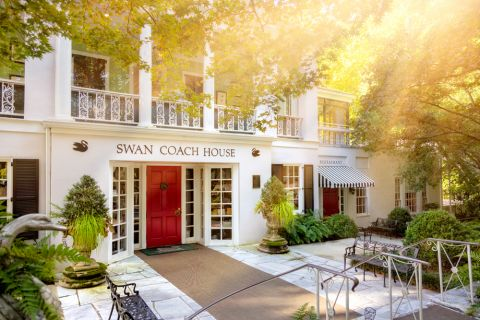 Swan House at Atlanta History Center near Camden Paces Apartments in Atlanta, GA