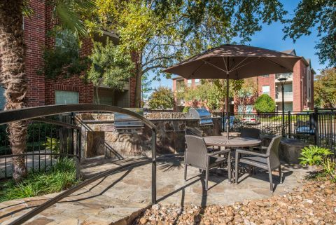 BBQ Grills at Camden Park Apartments in Houston, TX