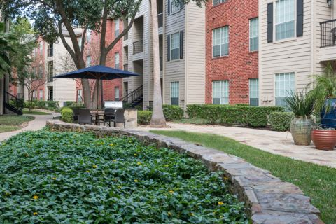 Outdoor BBQ Grills at Camden Park Apartments in Houston, TX