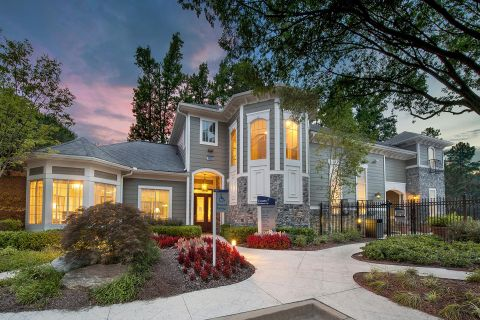 Clubhouse at Camden Peachtree City Apartments in Peachtree City, GA