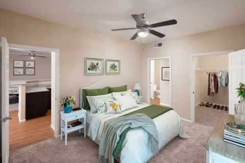 Bedroom at Camden Pecos Ranch Apartments in Chandler, AZ
