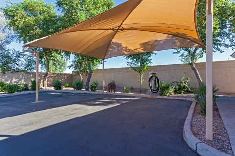 Car Care Center at Camden Pecos Ranch Apartments in Chandler, AZ