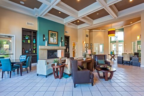 Resident Clubhouse at Camden Pecos Ranch Apartments in Chandler, AZ