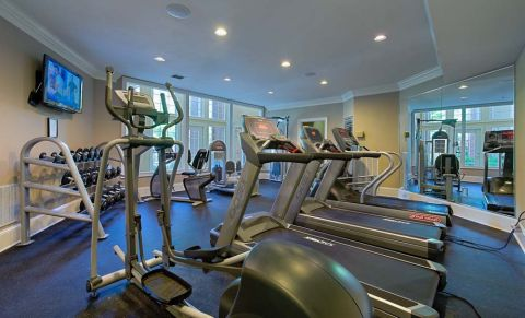Fitness Center at Camden Phipps Apartments in Atlanta, GA