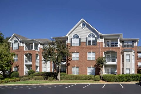 Exterior at Camden Phipps Apartments in Atlanta, GA