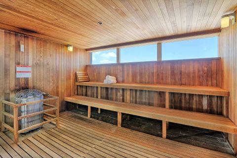 Spa House Sauna at Camden Pier District Apartments in St. Petersburg, FL