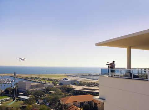 View at Camden Pier District Apartments in St. Petersburg, FL