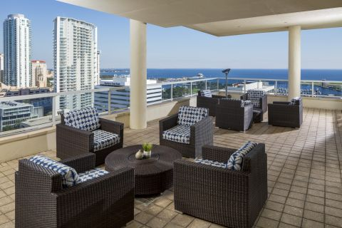 Sky Terrace at Camden Pier District Apartments in St. Petersburg, FL
