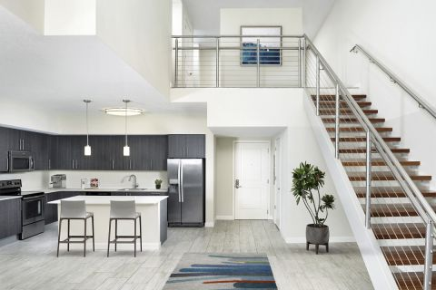 Townhome at Camden Pier District Apartments in St. Petersburg, FL