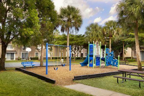 Playground at Camden Plantation Apartments in Plantation, FL