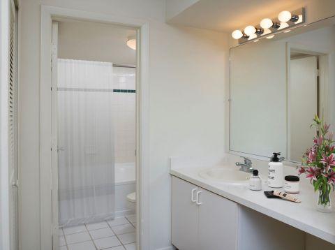Bathroom at Camden Plantation Apartments in Plantation, FL