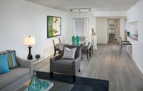 Dining Room at Camden Portofino Apartments in Pembroke Pines, FL