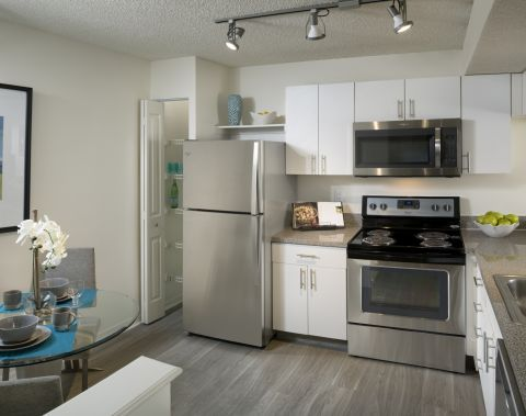 Kitchen at Camden Portofino Apartments in Pembroke Pines, FL