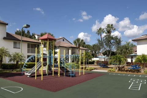 Playground at Camden Portofino Apartments in Pembroke Pines, FL