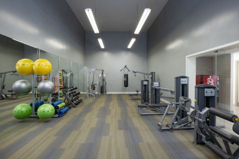Fitness Center at Camden Portofino Apartments in Pembroke Pines, FL