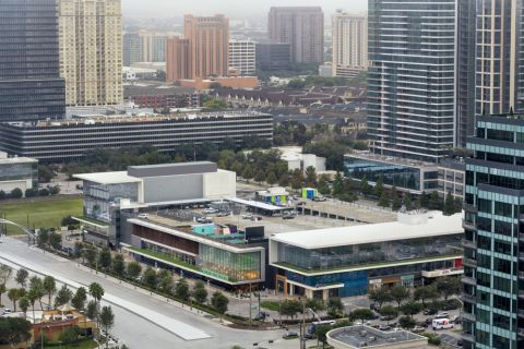 Whole Foods Market in Uptown Houston Near Camden Post Oak Apartments in Houston, TX
