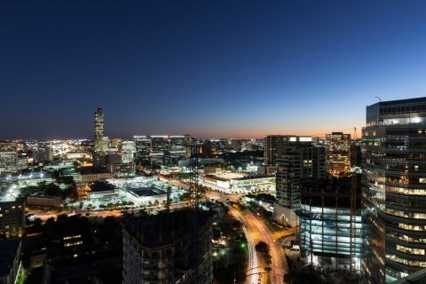 Galleria and Uptown Park Views at Camden Post Oak Apartments in Houston, TX