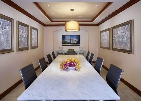 Conference Room at Camden Post Oak Apartments in Houston, TX