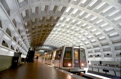 Metro near Camden Potomac Yard Apartments in Arlington, VA