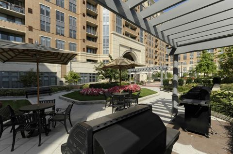 BBQ Grills at Camden Potomac Yard Apartments in Arlington, VA