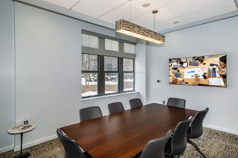 Conference Room with Complimentary WiFi at Camden Potomac Yard Apartments in Arlington, VA