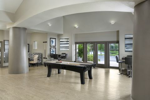 Resident Lounge at Camden Preserve Apartments in Tampa, FL