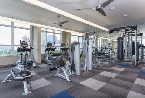 Camden Rainey Street apartments in Austin, TX Fitness Center Equipment
