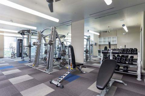 Camden Rainey Street apartments in Austin, TX Fitness Center