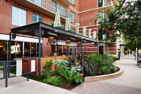 Attached Restaurant at Camden Rainey Street apartments in Austin, TX