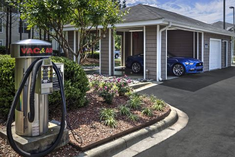Car Care Center at Camden Reunion Park Apartments in Apex, NC