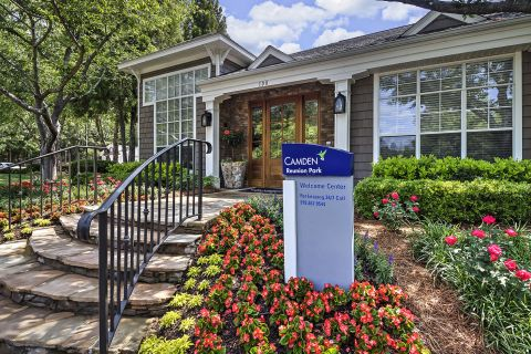 Welcome Center at Camden Reunion Park Apartments in Apex, NC