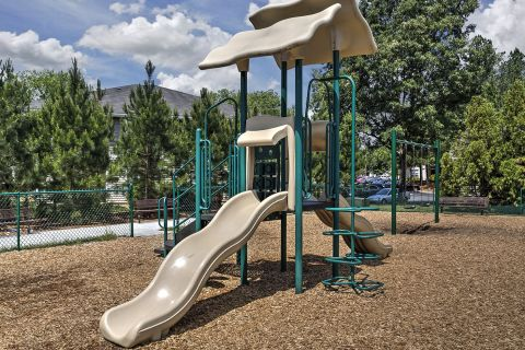 Playground at Camden Reunion Park Apartments in Apex, NC
