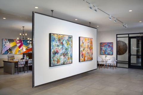 Interior gallery at Camden RiNo apartments in Denver, CO