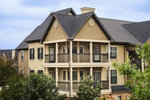 Exterior of Building at Camden Riverwalk Apartments in Grapevine, TX