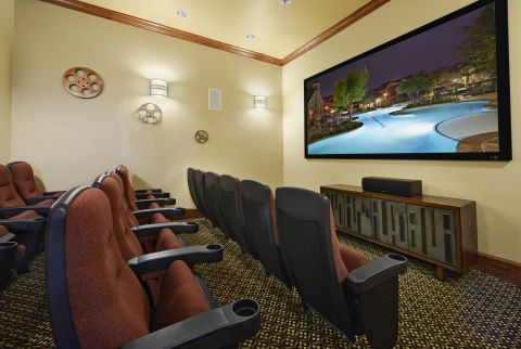 Movie Theater at Camden Riverwalk Apartments in Grapevine, TX