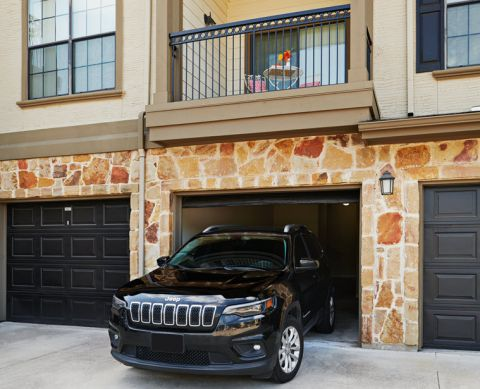 Private Garages at Camden Riverwalk Apartments in Grapevine, TX