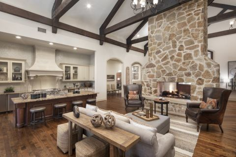 Main Clubhouse at Camden Riverwalk Apartments in Grapevine, TX