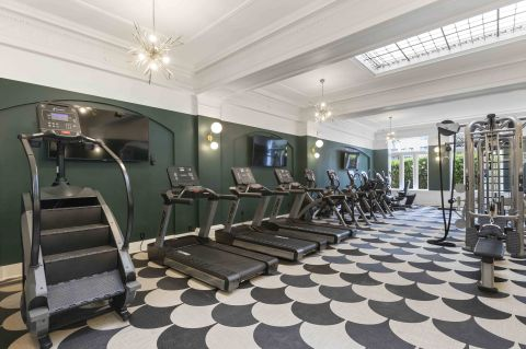 Camden Roosevelt Apartments Fitness Center with Stairmaster in Washington, DC