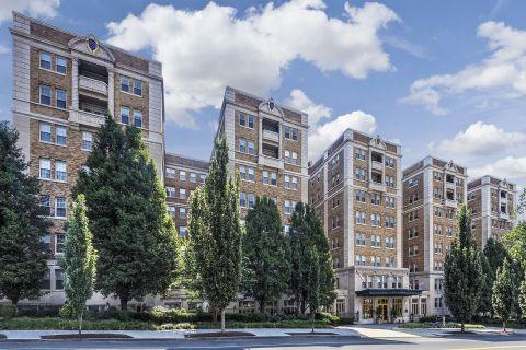 Northwest DC Street View at Camden Roosevelt Apartments in Washington, DC