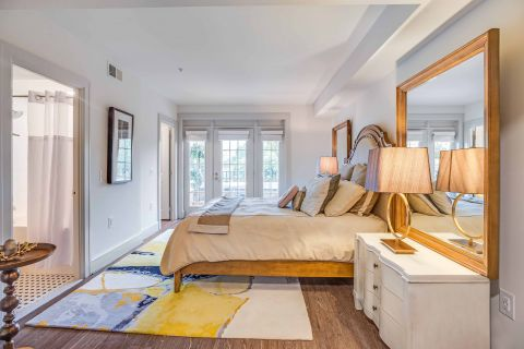 Master Bedroom in 2 Bedroom Apartment at Camden Roosevelt Apartments in Washington, DC