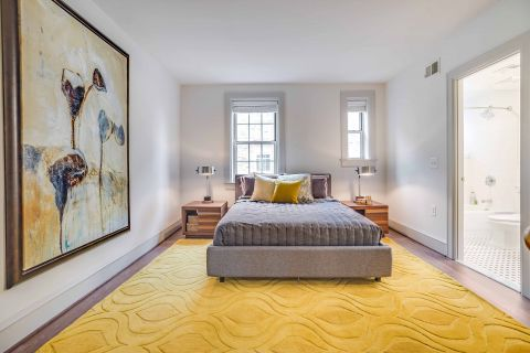 Guest Bedroom in 2 Bedroom Apartment at Camden Roosevelt Apartments in Washington, DC