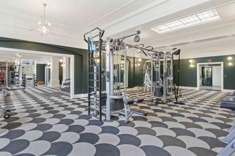 Camden Roosevelt Apartments Fitness Center in Washington, DC