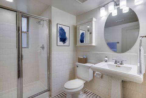 Bathroom at Camden Roosevelt Apartments in Washington DC
