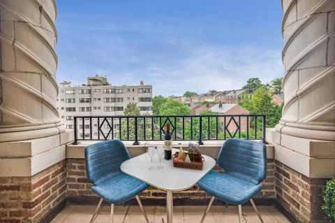Private Balcony at Camden Roosevelt Apartments in Washington DC