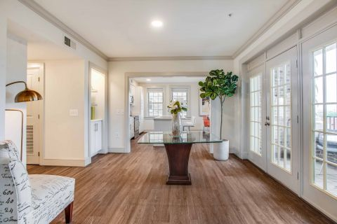 Lounge in 2 Bedroom Apartment at Camden Roosevelt Apartments in Washington, DC